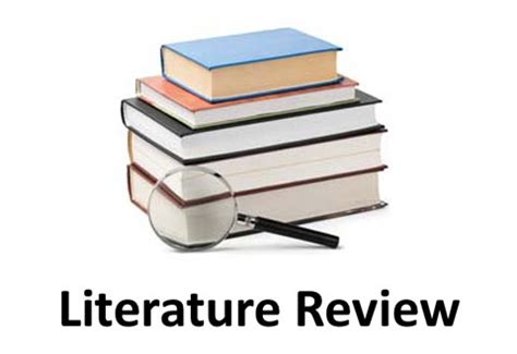 Literature review project plan